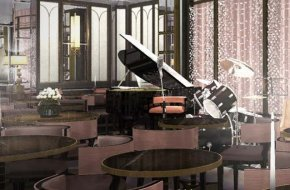 Photograph of The Jazz Room at The Wellesley London